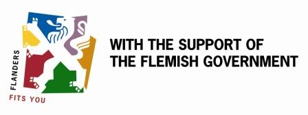 With the support of the Flemish Government